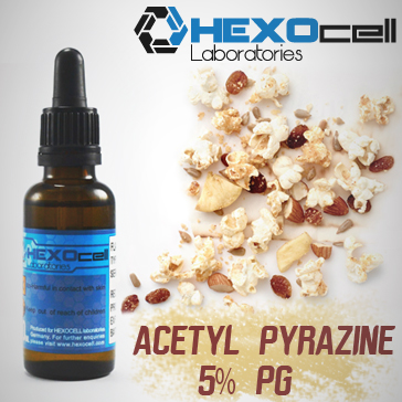 D.I.Y. - 30ml HEXOcell Acetyl Pyrazine (5% PG)