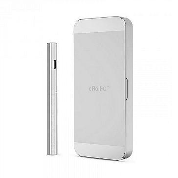 KIT - JOYETECH eRoll-C Automatic / No Button Electronic Cigarette ( Silver ) - 100% Authentic