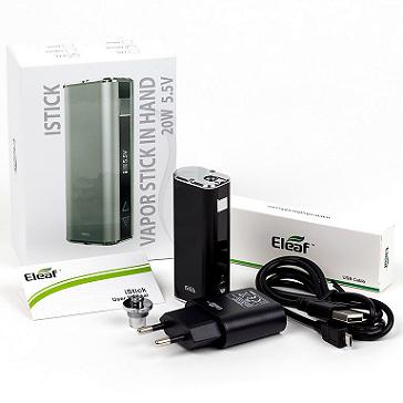 KIT - Eleaf iStick 20W - 2200mA VV/VW ( Black )