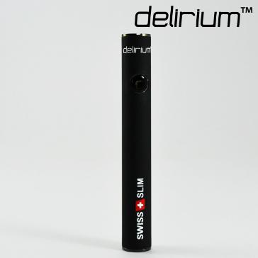 BATTERY - delirium Swiss & Slim 400mAh High Quality Battery ( Rubberized Black )