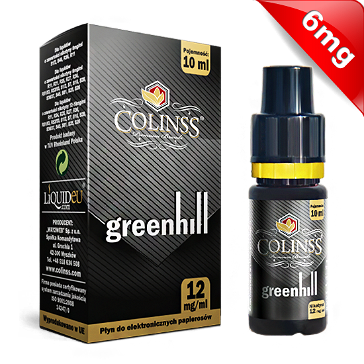 10ml GREENHILL 6mg eLiquid (With Nicotine, Low) - eLiquid by Colins's