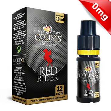 10ml RED RIDER 0mg eLiquid (Without Nicotine) - eLiquid by Colins's