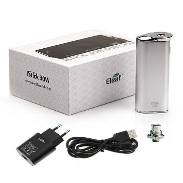 KIT - Eleaf iStick Sub Ohm 30W - 2200mA VV/VW ( Stainless )