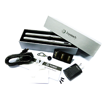 KIT - JOYETECH eCom 650mAh + 1000mA VV / VW Double Kit (Stainless)
