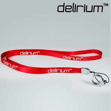 VAPING ACCESSORIES - delirium Lanyard ( Red )