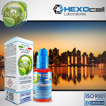 30ml MANHATTAN 9mg eLiquid (With Nicotine, Medium) - Natura eLiquid by HEXOcell