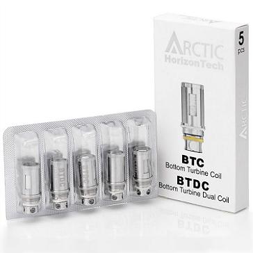 ATOMIZER - 5x BTDC Atomizer Heads for HORIZON Arctic ( 0.2 ohms )
