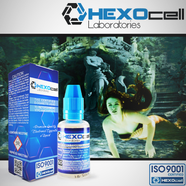 30ml LOST ATLANTIS 0mg eLiquid (Without Nicotine) - eLiquid by HEXOcell