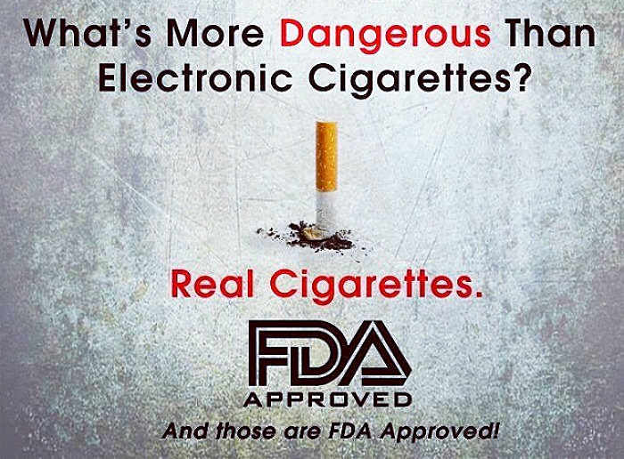 FDA covers electronic cigarette (ecigarette) research that shows vaping is healthier than smoking