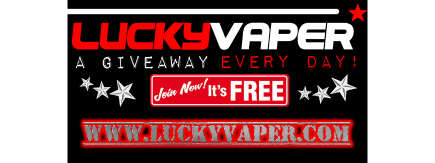 Electronic cigarette giveaways every day