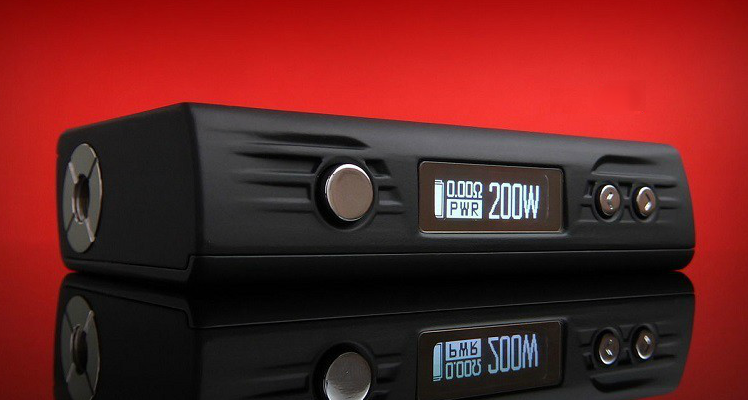 KIT - Sigelei FUCHAI 200W TC Box Mod ( Black )