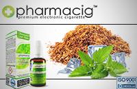 30ml TOBACCO & MINT 0mg eLiquid (Without Nicotine) - eLiquid by Pharmacig image 1
