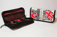 VAPING ACCESSORIES - Pandoras Enigma Handmade Leather Carry Case ( Patriot ) image 2