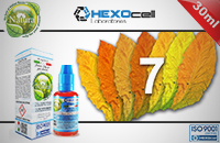 30ml 7 FOGLIE 3mg eLiquid (With Nicotine, Very Low) - Natura eLiquid by HEXOcell image 1