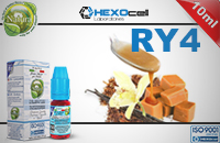 10ml RY4 6mg eLiquid (With Nicotine, Low) - Natura eLiquid by HEXOcell image 1