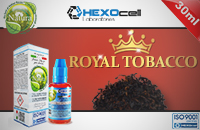 30ml ROYAL TOBACCO 6mg eLiquid (With Nicotine, Low) - Natura eLiquid by HEXOcell image 1
