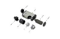 KIT - Eleaf Pico Squeeze Squonk Mod Full Kit ( Grey ) image 7