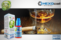 30ml CIGAR PASSION 18mg eLiquid (With Nicotine, Strong) - Natura eLiquid by HEXOcell image 1