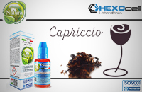 30ml CAPRICCIO 0mg eLiquid (Without Nicotine) - Natura eLiquid by HEXOcell image 1