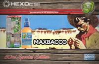 60ml MAXBACCO SPECIAL EDITION 3mg High VG eLiquid (With Nicotine, Very Low) - Natura eLiquid by HEXOcell image 1