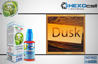 30ml DUSK TOBACCO 18mg eLiquid (With Nicotine, Strong) - Natura eLiquid by HEXOcell image 1