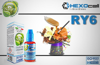 30ml RY6 0mg eLiquid (Without Nicotine) - Natura eLiquid by HEXOcell image 1
