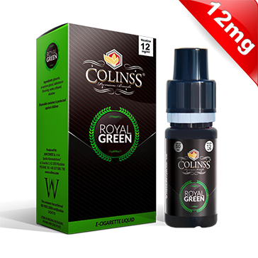 10ml ROYAL GREEN 12mg eLiquid (Tobacco & Mint) - eLiquid by Colins's