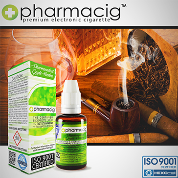 30ml TOBACCO & COGNAC 0mg eLiquid (Without Nicotine) - eLiquid by Pharmacig