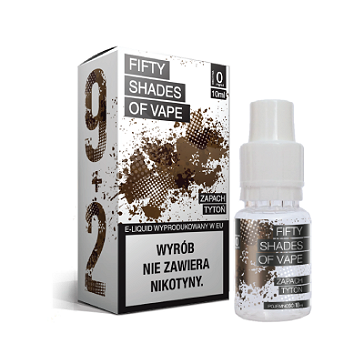 10ml TOBACCO 18mg eLiquid (With Nicotine, Strong) - eLiquid by Fifty Shades of Vape