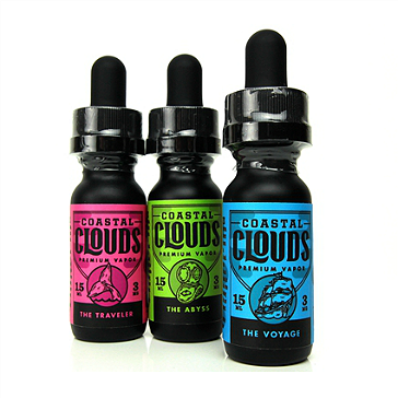 15ml THE TRAVELER 3mg eLiquid (With Nicotine, Very Low) - eLiquid by Coastal Clouds