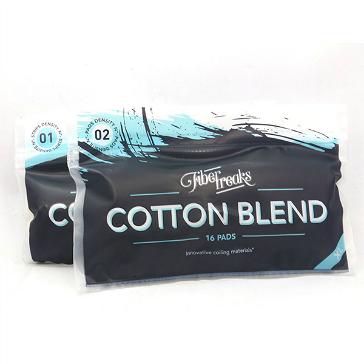 VAPING ACCESSORIES - Fiber Freaks Cotton Blend No: 2 Density Wick ( XL Pack )