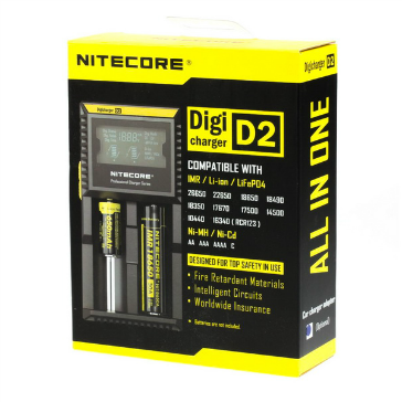 CHARGER - Nitecore D2 External Battery Charger