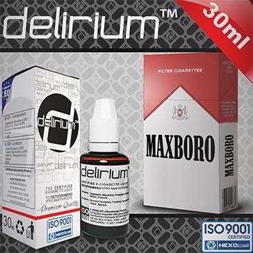 30ml MAXXXBORO 9mg eLiquid (With Nicotine, Medium) - eLiquid by delirium