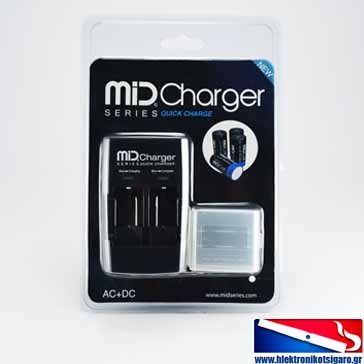 CHARGER - External Charger for Janty MiD CELL PRO HD 550mAh & AW IMR 16340 3.7V 550mAh Batteries