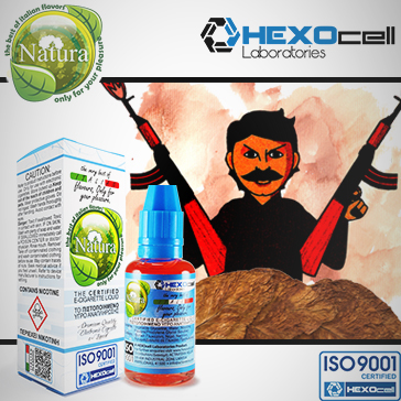 30ml IL CARTELLO 18mg eLiquid (With Nicotine, Strong) - Natura eLiquid by HEXOcell