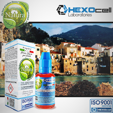 30ml GRANDE SICILIA 18mg eLiquid (With Nicotine, Strong) - Natura eLiquid by HEXOcell