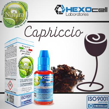 30ml CAPRICCIO 0mg eLiquid (Without Nicotine) - Natura eLiquid by HEXOcell