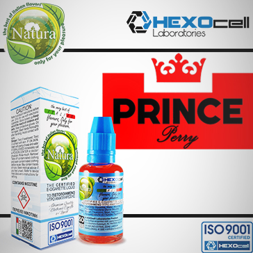 30ml PRINCE PERRY 18mg eLiquid (With Nicotine, Strong) - Natura eLiquid by HEXOcell