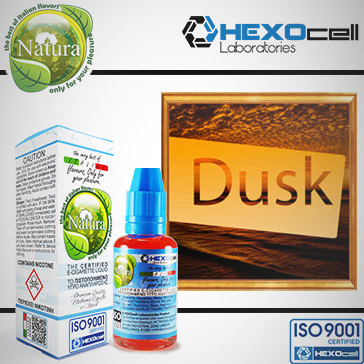 30ml DUSK TOBACCO 18mg eLiquid (With Nicotine, Strong) - Natura eLiquid by HEXOcell