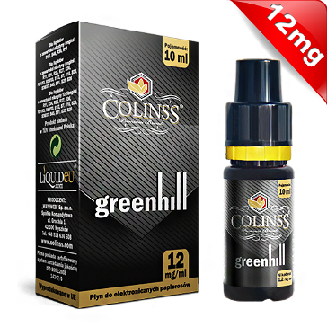 10ml GREENHILL 12mg eLiquid (With Nicotine, Medium) - eLiquid by Colins's