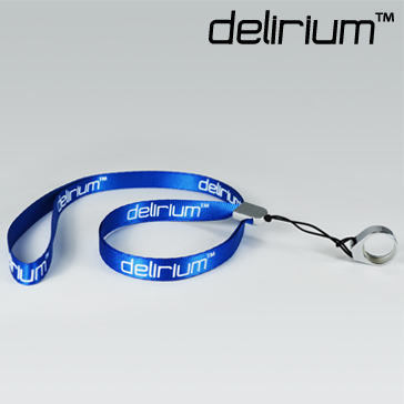 VAPING ACCESSORIES - delirium Lanyard ( Blue )