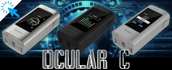 joyetech, ocular, touchscreen, 18650, mod, electronic cigarette, akku, batteria, batterie