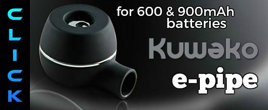 kuwako, epipe, e pipe, electronic cigarette pipe, e-pipe, electronic cigarette